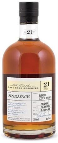 William Grant & Sons Scotch Annasach 21 Year Rare Cask Reserves